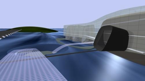 Afsluitdijk World Sustainability Centre - Bridge